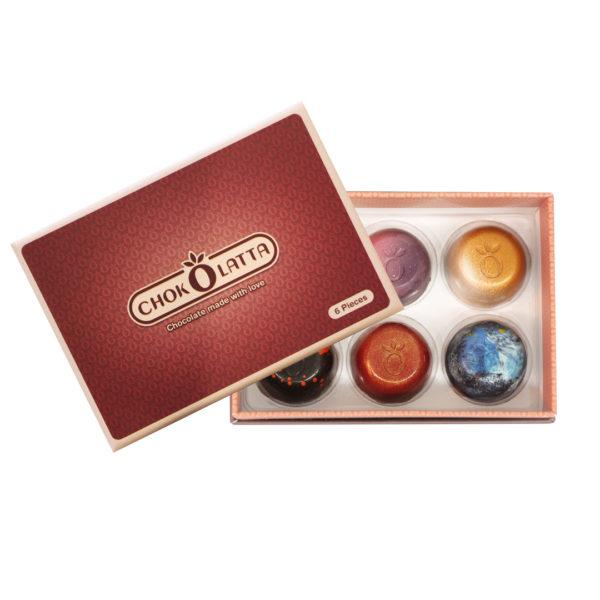 Chokolatta Bonbons Box 6 pcs