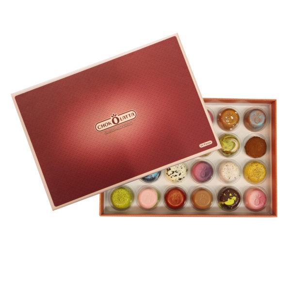 Chokolatta Bonbons Box 24 pcs