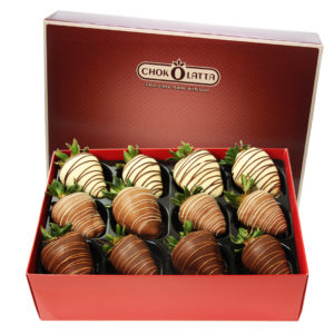 Chokolatta Assorted Chocolate Covered Strawberries