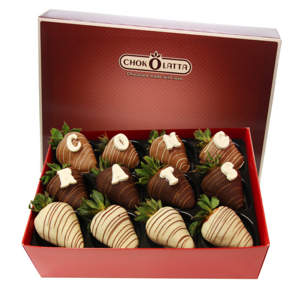 Chokolatta Congrats Chocolate Covered Strawberries