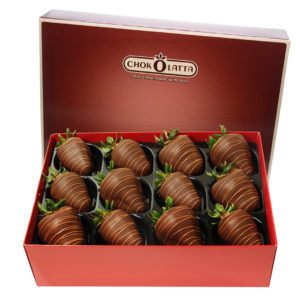 Chokolatta Dark Chocolate Covered Strawberries