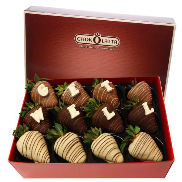 Chokolatta Get Well Chocolate Covered Strawberries