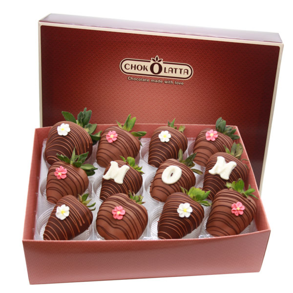 Chokolatta Mom Chocolate Covered Strawberries