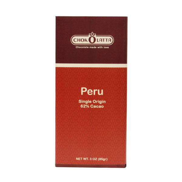 Chokolatta Chocolate Bars 62 Peru