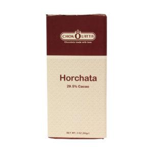 Chokolatta Chocolate Bars Horchata