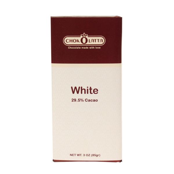 Chokolatta Chocolate Bars White Chocolate Ecuador