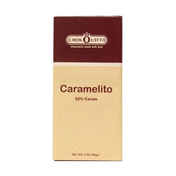 Chokolatta Chocolate Bars Caramelito